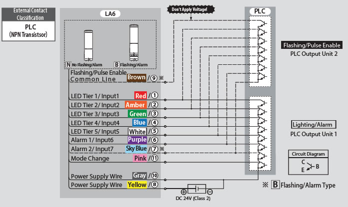 patlite  u2013 signal tower la6  u2013 see more do more  revolite  u2013 also wiring diagram