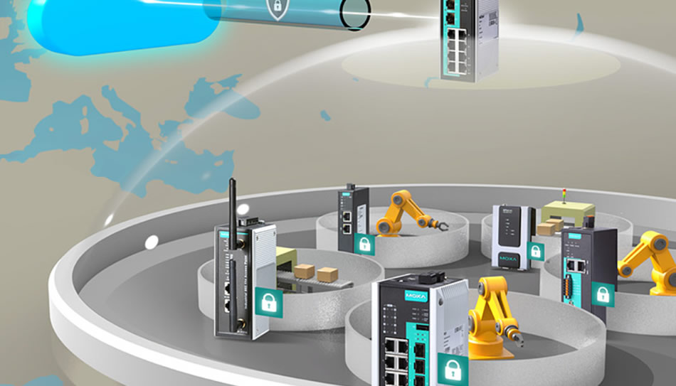IIoT Protect Your Industrial Networks from Edge to Cloud – Moxa