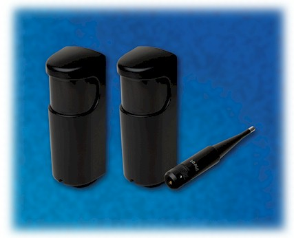 Long Range Door and Gate Photoelectric Sensors with Optional Laser Alignment