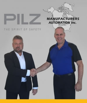Pilz Canada partners with Manufacturers Automation