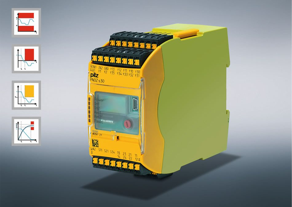 Speed monitor PNOZ s30 from Pilz with a new analogue output – Making safe turns easy