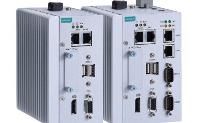 MC-1100 Series Quad-core fanless DIN-rail automation computer