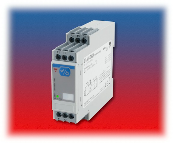 Carlo Gavazzi's Compact  Universal – Voltage  Motor Thermistor Relay
