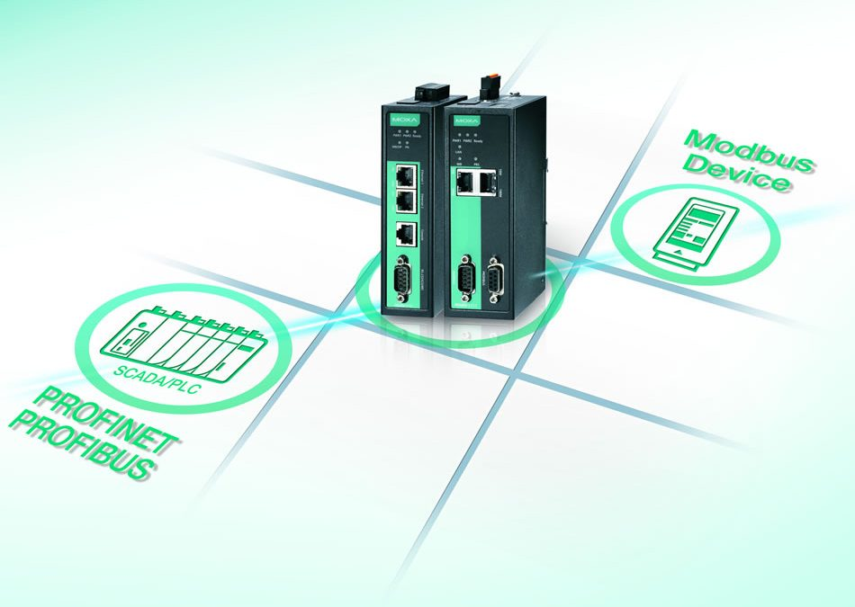 Manufacturers Automation Inc. Introduces Moxa's Protocol Gateways to Connect Modbus Devices to PROFINET or PROFIBUS Networks Effortlessly