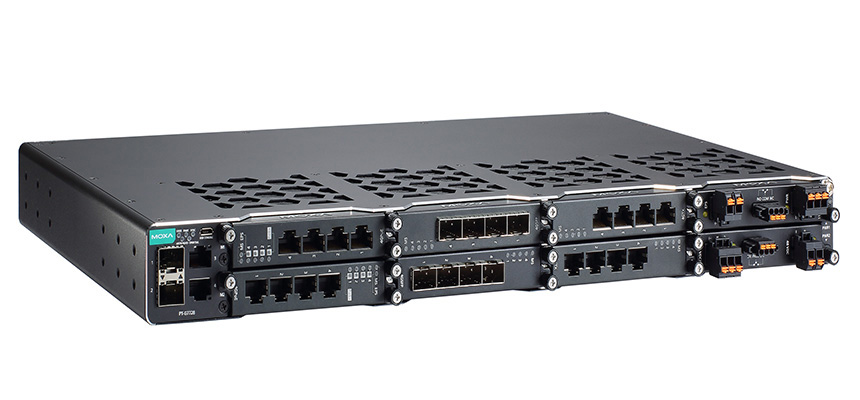 Moxa – World's First Rack-Mounted Switches That Comply With the IEC 61850-3 Edition 2 Class 2 Standard