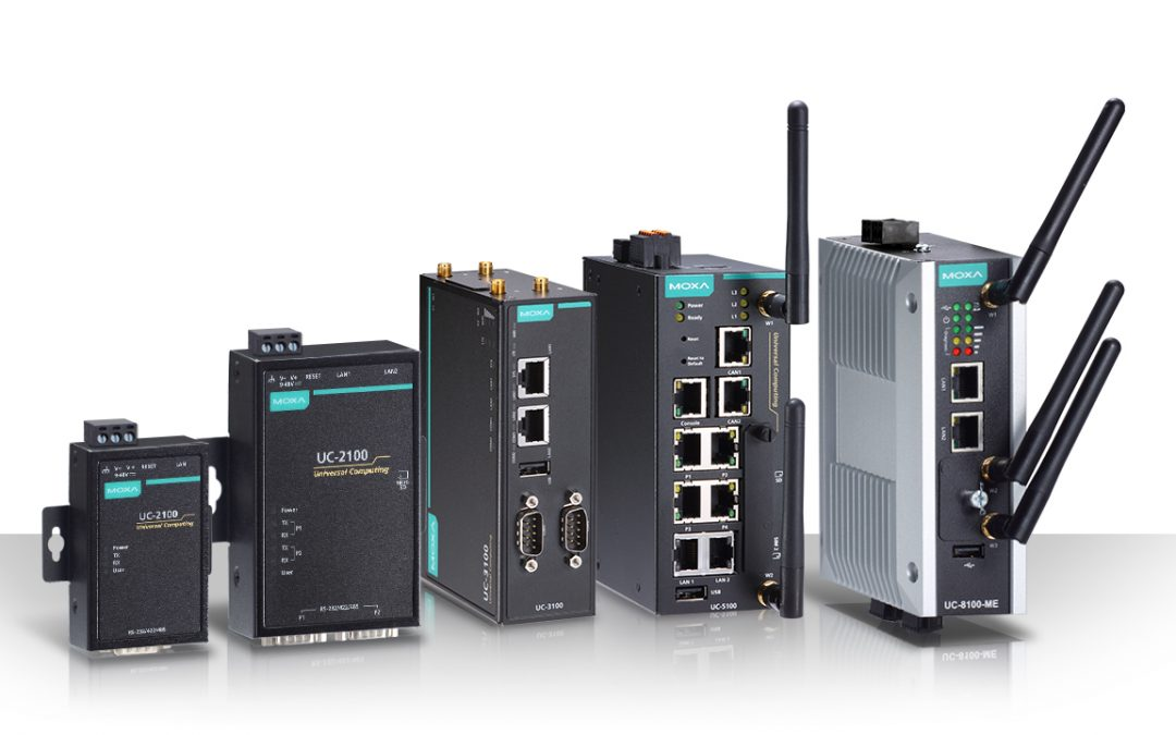 Moxa Introduces LTE-Ready Arm Linux IIoT Gateways at Hannover Messe 2018