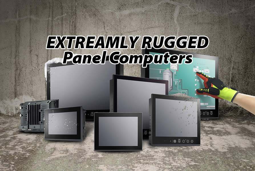 Built for the Extreme – Rugged Panel Computers – Moxa